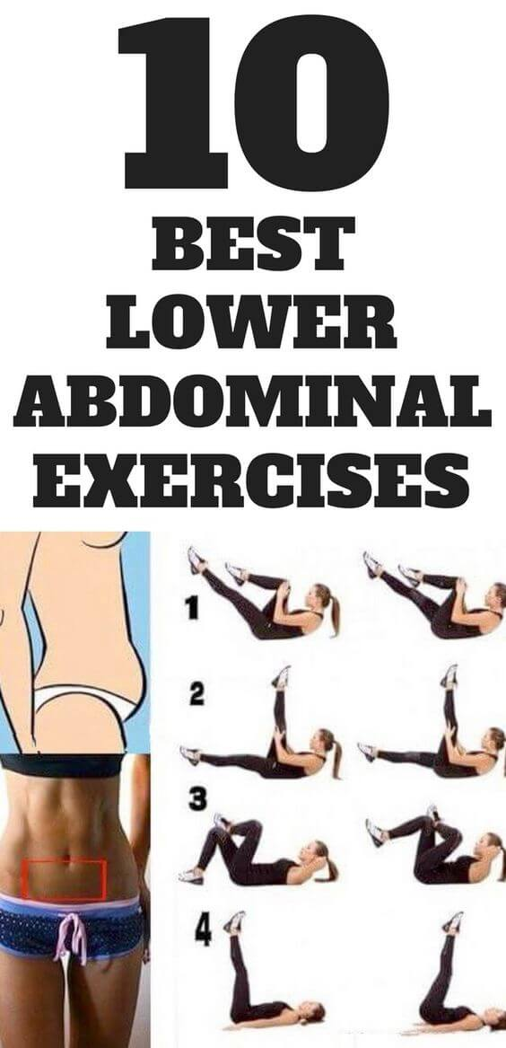 10 Best Lower Abdominal Exercises Healthy Fitness Abs Training