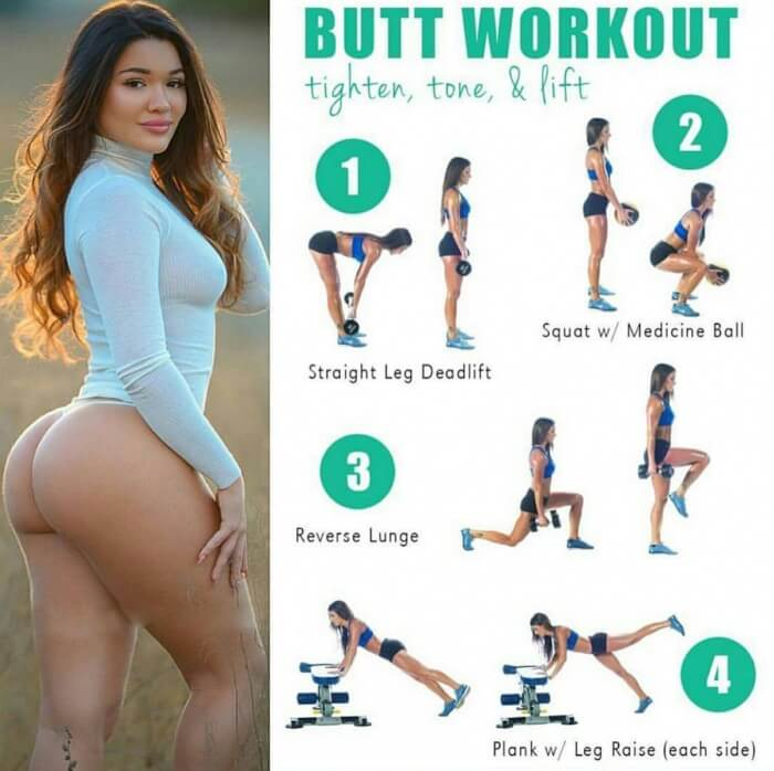 Butt thigh exercises sexy mistake